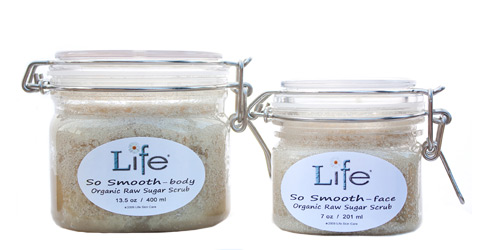 Life Skin Care Scrubs